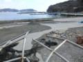 根浜海岸キャンプ場付近2013.2.10