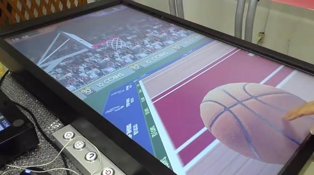 大画面でバスケットシュート アンドロイドアプリ
