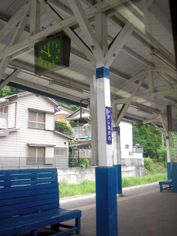 こういう駅いいね。中央線とは違うね。