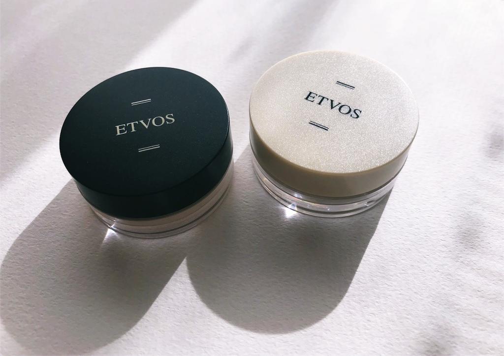 ETVOS(エトヴォス) 下地パウダー(ナイトミネラルファンデーション) マットスムースミネラルファンデーション