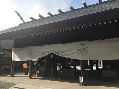 阿佐ヶ谷神明宮 拝殿