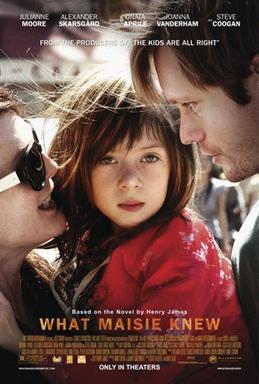 映画「メイジーの瞳」公開時のポスター。Wikipediaより