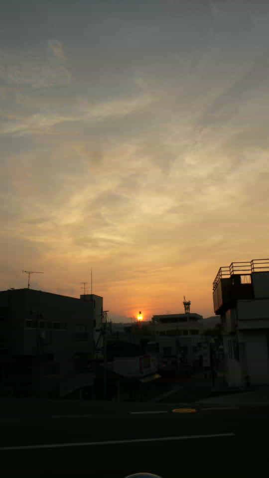 [埼玉][秩父][空][夕焼け]