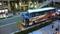 4/12に起きたバス事故。UDXビルそばのガード下に衝突