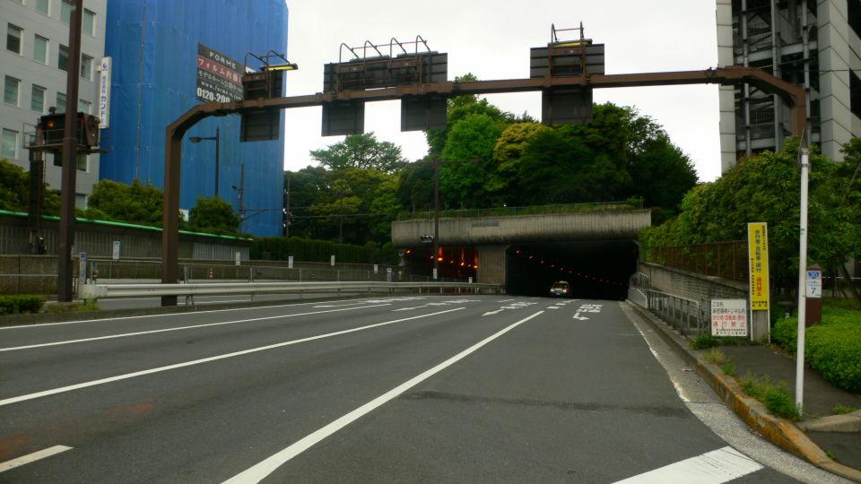 新宿御苑トンネル