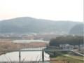 吉田川合流点付近