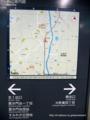 毘沙門台駅附近図