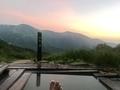 蓮華温泉と足