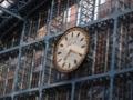 駅の大時計