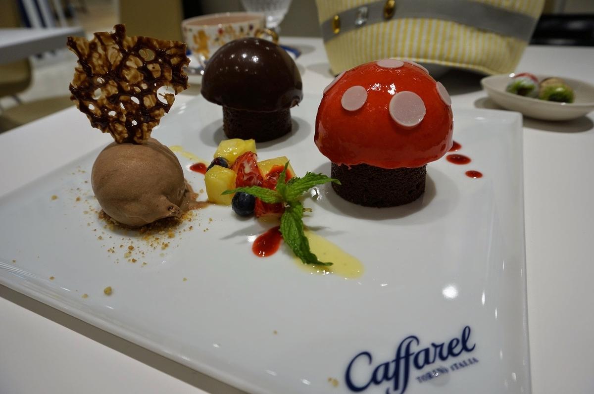カファレルさんのきのこケーキ『フンゲッティ』