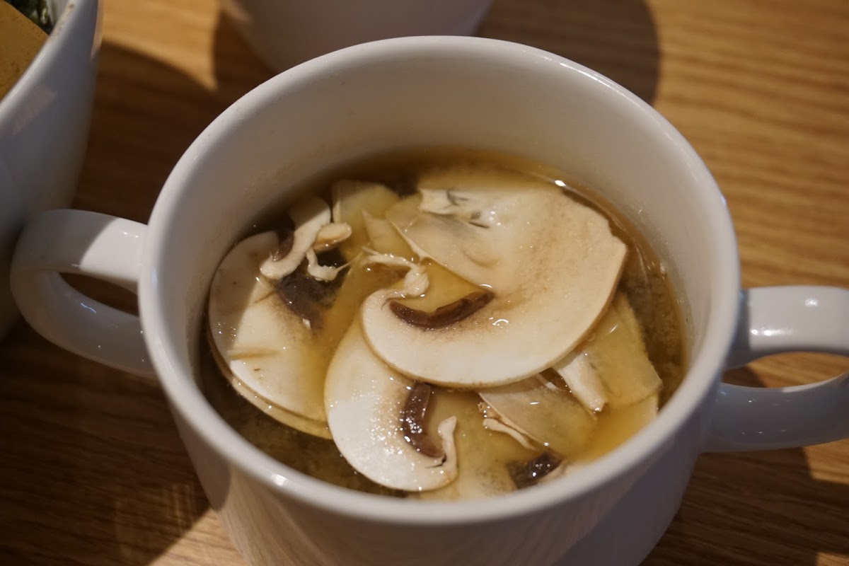 MUSHROOM TOKYO(マッシュルーム・トーキョー)のお味噌汁