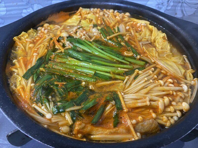 えのきのキムチ鍋