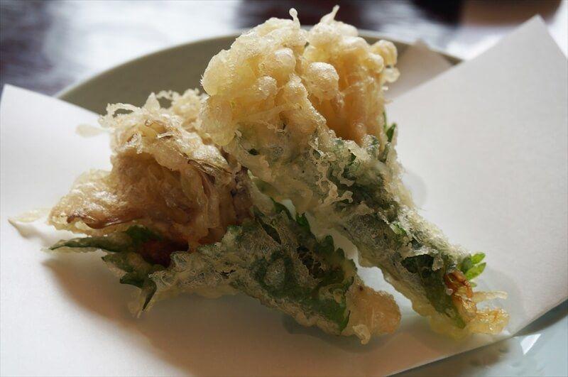 えのきと舞茸の天ぷら