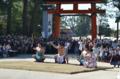 『京都新聞写真コンテスト 上賀茂神社・式年遷宮・横綱奉納土俵入り