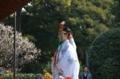 『京都新聞写真コンテスト 京都・城南宮の巫女さん』