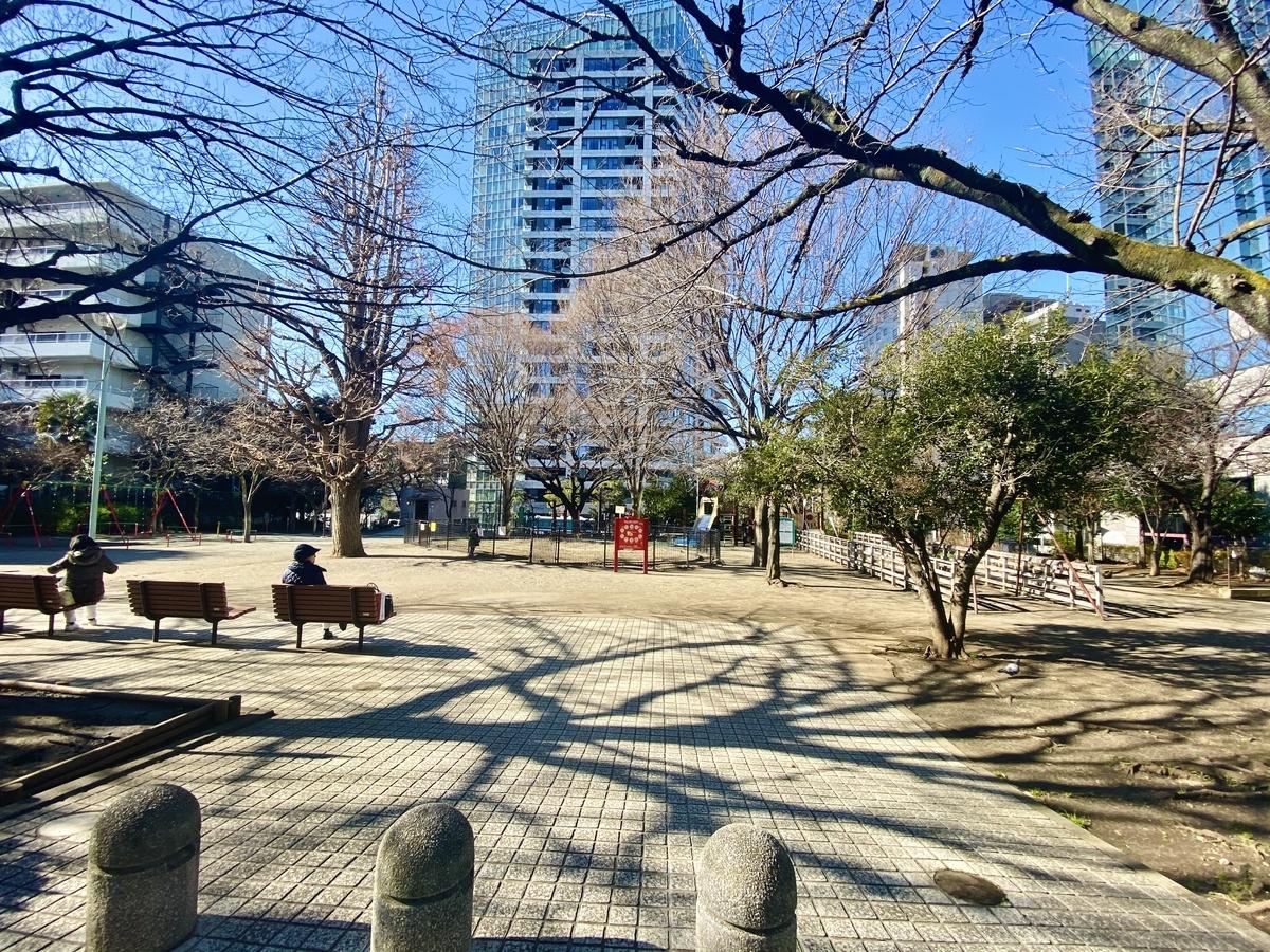 笄公園 笄小学校