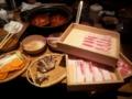 [twitter] 温野菜にて三種の銘柄豚食べ放題なう(*>w<*)ウマヒー♪
