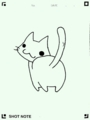 [twitter] お尻(。・ω・。)落書き猫。