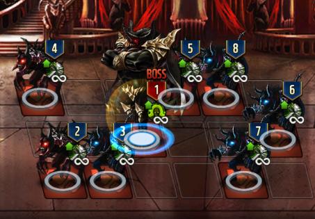 悪魔城30Fの敵配置