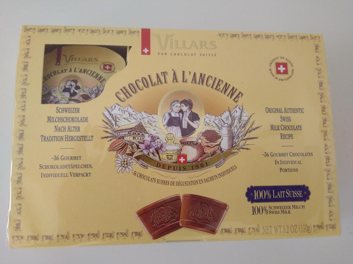 Villars-Chocolat à l'Ancienne Lait
