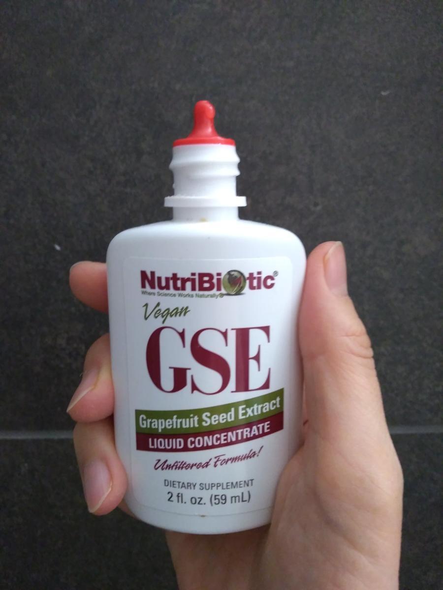 NutriBiotic グレープフルーツ・シード・エクストラクト(GSE) 出口