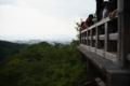 京都新聞写真コンテスト 清水寺『景色に背を向けて』
