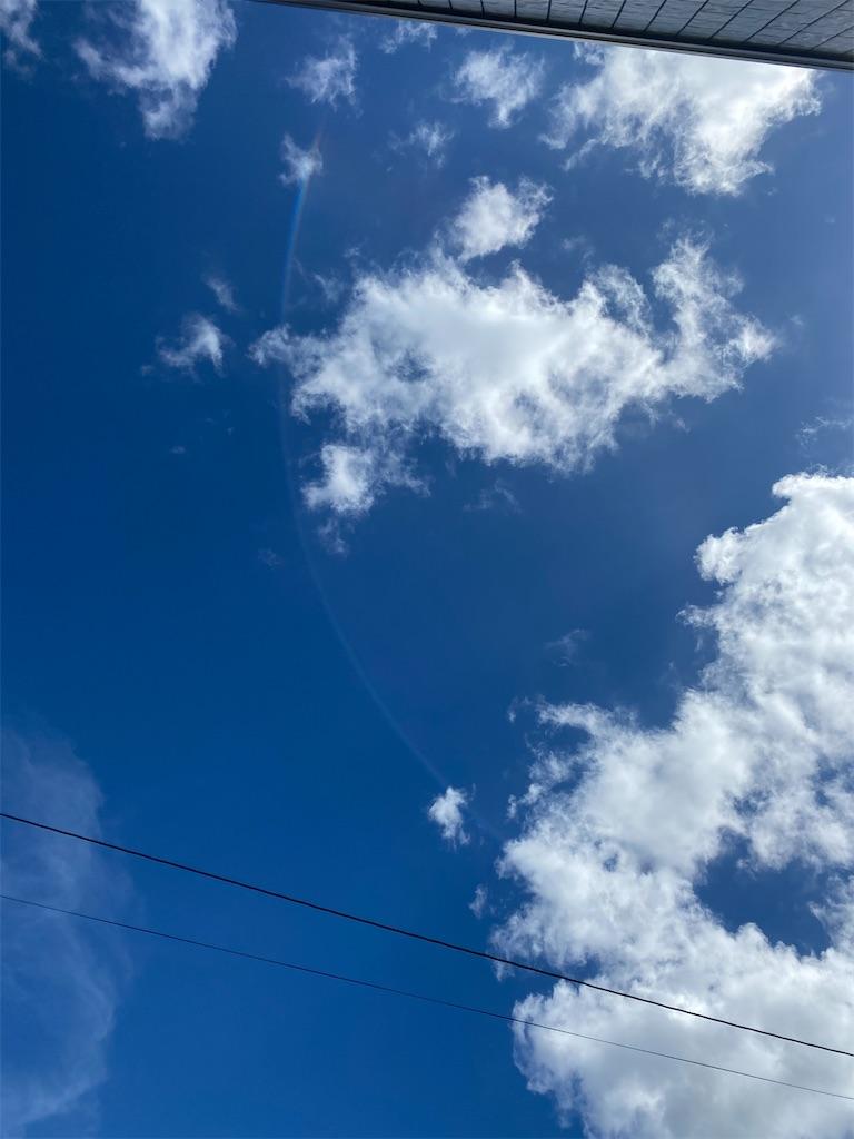 澄んだ青空