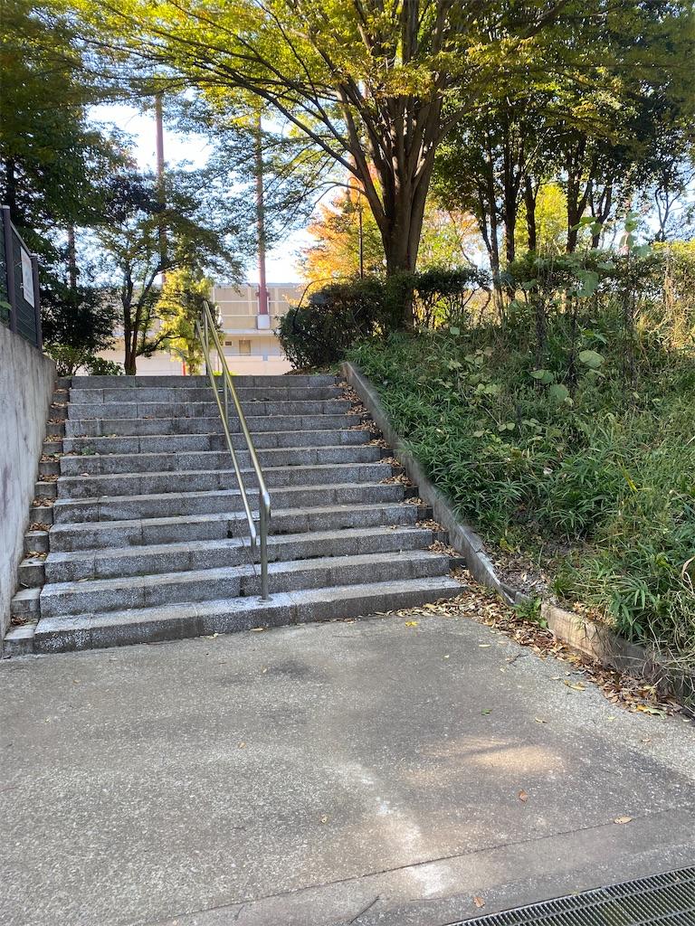 階段が見える