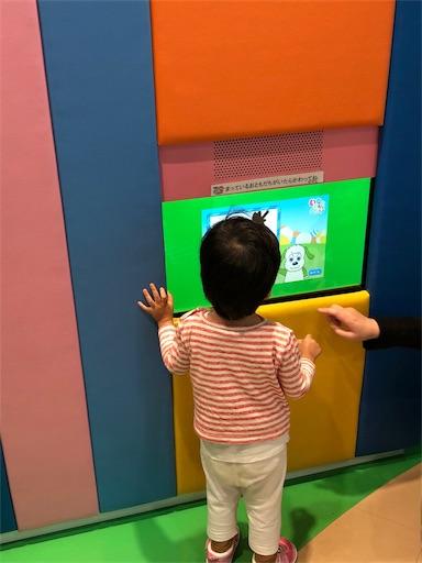 NHKスタジオパークのワンワンのお絵かきコーナー