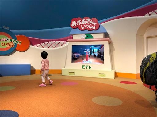 NHKスタジオパークのおかあさんといっしょのコーナー