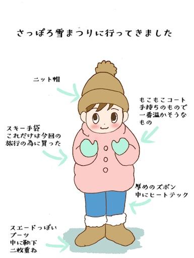 さっぽろ雪まつりに行く子どもの服装