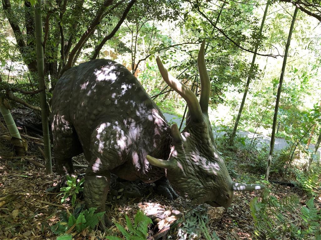 ディノアドベンチャー名古屋のスティラコサウルス
