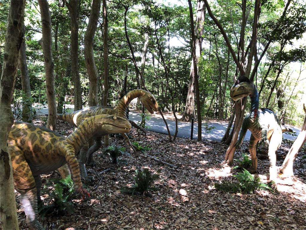 ディノアドベンチャー名古屋の恐竜たち