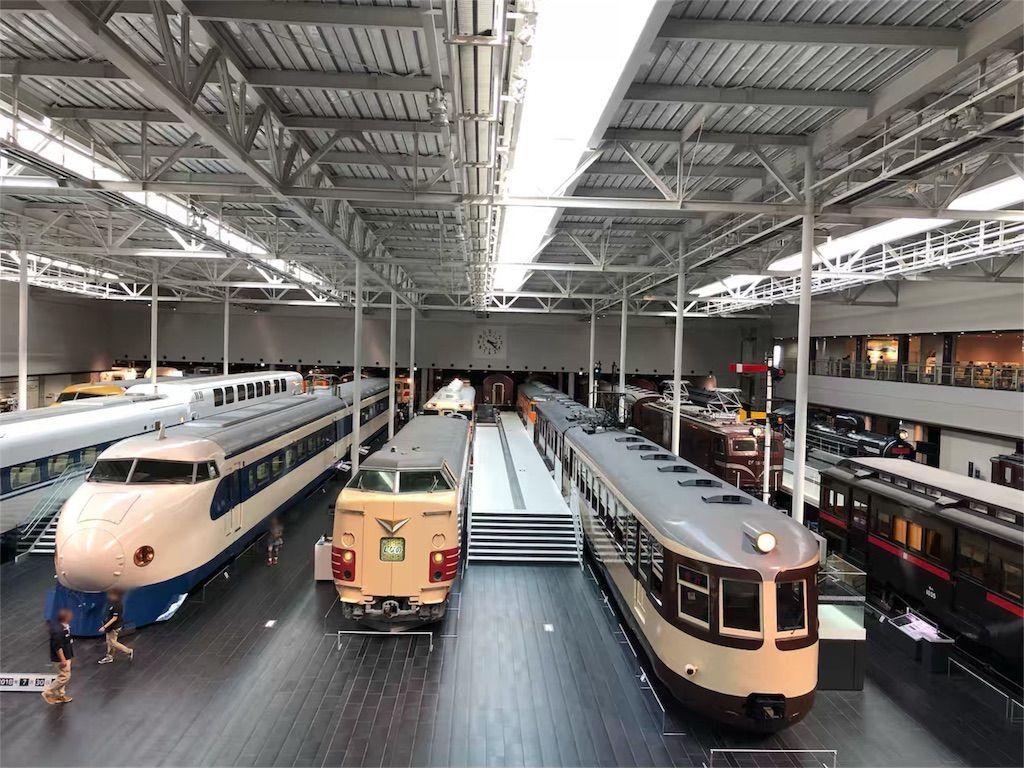 リニア・鉄道館の車両展示