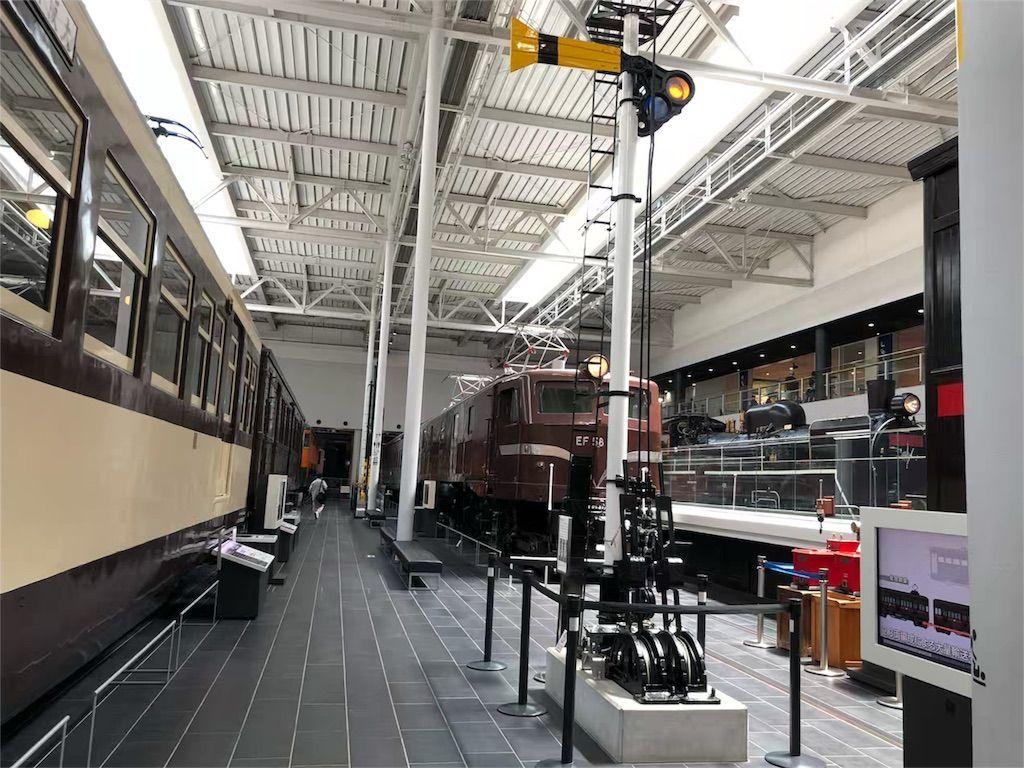 リニア・鉄道館の車両展示の一部