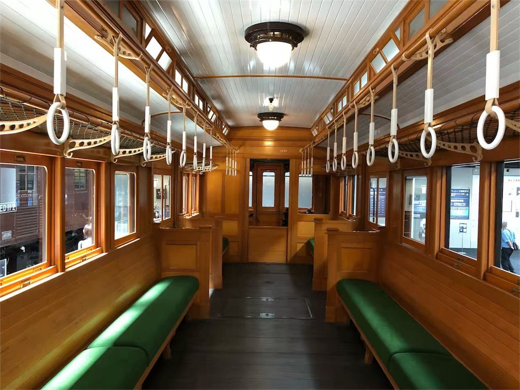 リニア・鉄道館の車両の内部