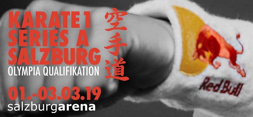KARATE1シリーズA2019・ザルツブルク大会