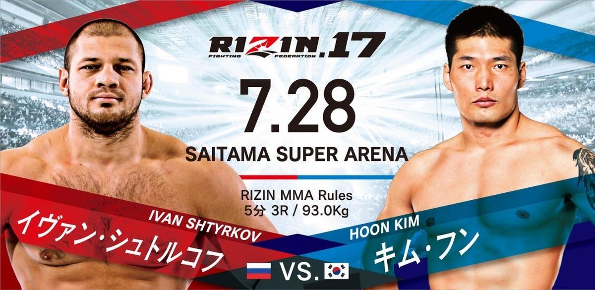 イヴァン・シュトルコフ vs. キム・フン