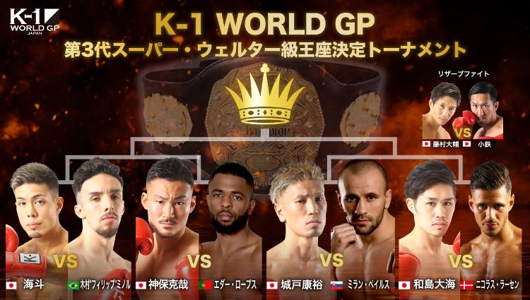 K-1 WORLD GP第3代スーパー・ウェルター級王座決定トーナメント