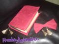 聖書カバー/おりぼんバレッタ