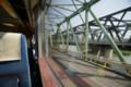 (手前)今はもう通行不可の旧・村山橋 (奥)現役の新・村山橋