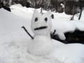 雪カロリにゃん