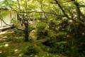 有料拝観の中庭。一部の隙もないな!