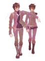 紫微星と星了(貴章と真砂)