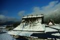 京都新聞写真コンテスト 「雪解けの屋根」