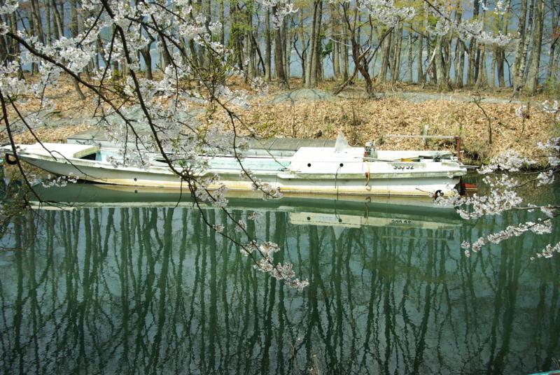京都新聞写真コンテスト「漁船の休息」