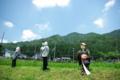 京都新聞写真コンテスト 「美山 ザ・トリオ」