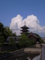 京都新聞写真コンテスト「夏の雲」
