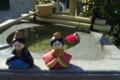 京都新聞写真コンテスト「町角に小さな春」