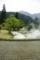 京都新聞写真コンテスト「春告げる煙」
